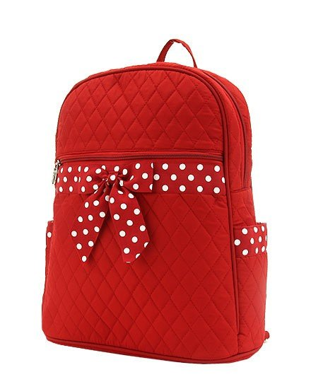 Red & White Backpack