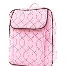 Lt. Pink & Brown Backpack
