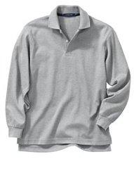 Kid's Unisex L/S Grey Polo Shirt