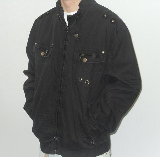 Carbon - Sports Jacket - Black