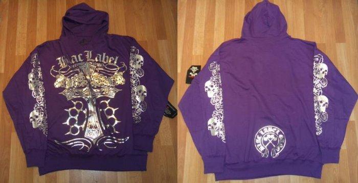 Blac Label - L/S Hoody - Purple