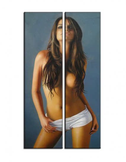 Modern Contemporary oil paintings nude girl painting nude007