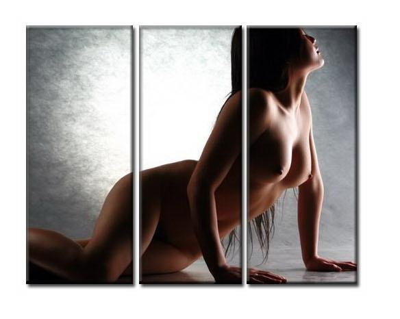 Modern Contemporary oil paintings nude girl painting nude054
