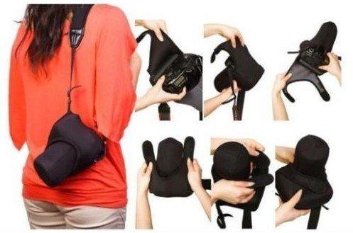 camera case bag cover for Canon 20D, 30D, 350, 400D, 450D, 500D, 550D, 1000D DSLR camera