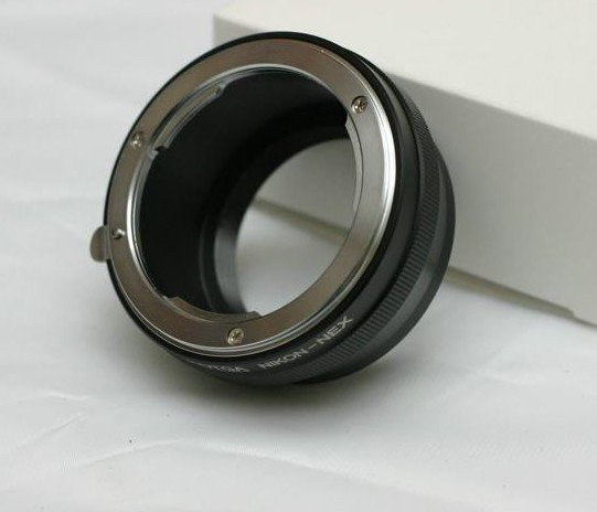 Nikon lens to Sony Nex5 Nex3 NEX-VG10 E (NEX-5, NEX-3 NEXVG10E) adapter ring