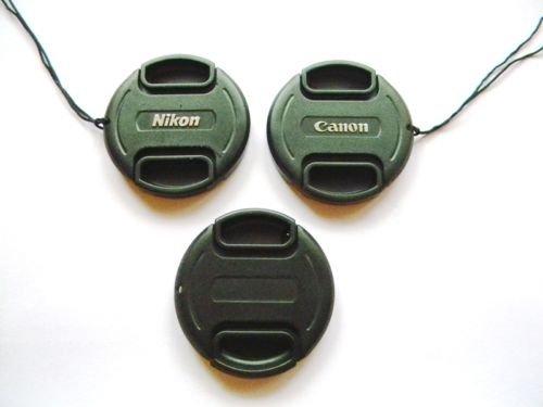 lens front cap 52mm 55, 58, 62, 67, 72, 77mm