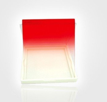 Graduated red Filter for Cokin P series square lens UV