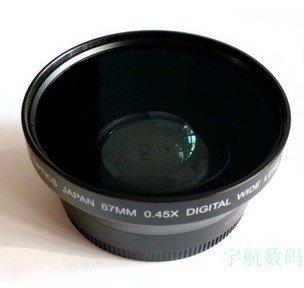67mm 0.45x WIDE Angle + Macro Conversion LENS 67 0.45