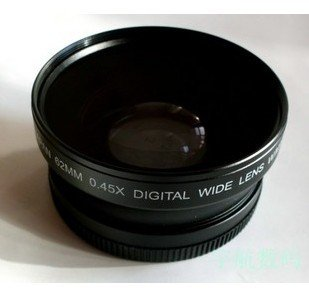 62mm 0.45x WIDE Angle + Macro Conversion LENS 62 0.45