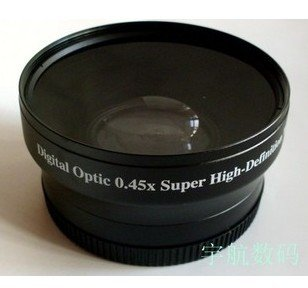 52mm 0.45x WIDE Angle + Macro Conversion LENS 52 0.45