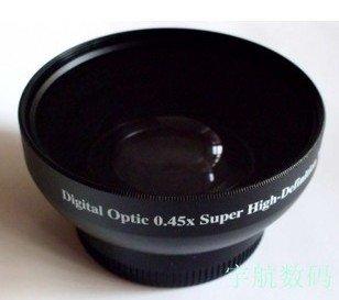 43mm 0.45x WIDE Angle + Macro Conversion LENS 43 0.45
