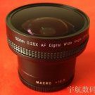 52mm Macro 0.25x Wide FISH EYE Fisheye LENS 52 mm canon nikon etc.