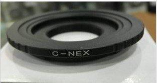 C Mount Lens to SONY NEX-5 NEX-3 NEX5 NEX-VG10 camera adapter