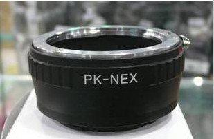 Adapter for Pentax K PK mount lens to Sony NEX E mount NEX-5 NEX-3 NEX5 NEX3 camera