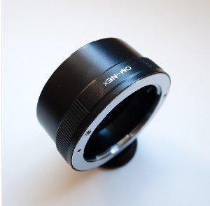 Adapter for Olympus OM Lens to Sony NEX-5 NEX-3 NEX5 NEX3 camera mount