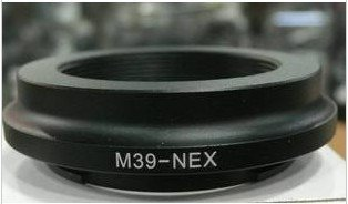 Adapter for Leica M39 L39 Lens to SONY E-MOUNT Adapter NEX3 NEX5 camera