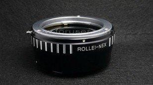 Rollei 35mm QB lens to Sony E mount NEX-3 NEX-5 NEX5 NEX3 camera adapter