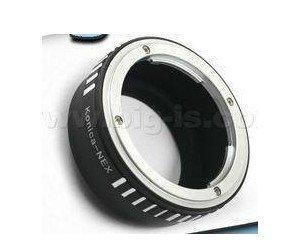 Konica AR lens to Sony NEX E mount adapter NEX5 NEX3 camera