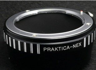 Praktica PB lens to Sony NEX E mount adapter NEX5 NEX3 camera