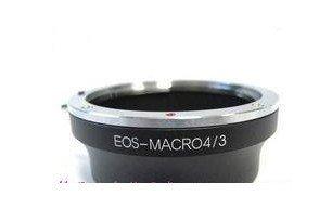 Canon EOS EF Lens to Micro 4/3 adapter E-P1 E-P2 G1 GF1