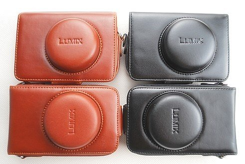 Leather Case to Panasonic LUMIX LX3 LEICA D- LUX4 LUX3