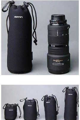 Camera Neoprene Lens case- all size S, M, L, or XL