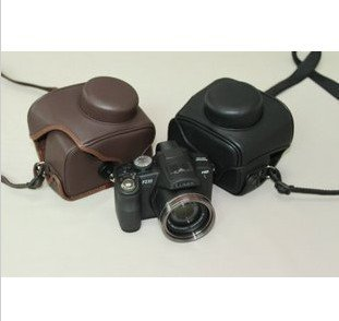 leather case bag for Sony Cybershot DSC-HX1 digital camera