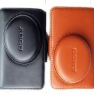leather case bag for Sony Cyber-shot DSC-H20 /B digital camera