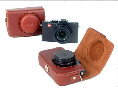 Leica D-LUX4 D-LUX3  leather case bag