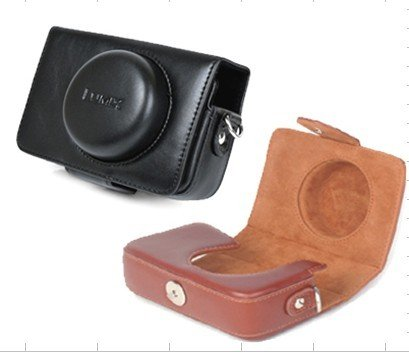 Panasonic LX3 LX2 LX1 leather case bag