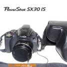 Canon sx30 SX30IS 14.1MP Digital Camera leather case bag