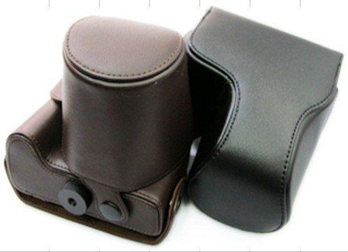 leather case bag for Nikon Coolpix P100 digital camera