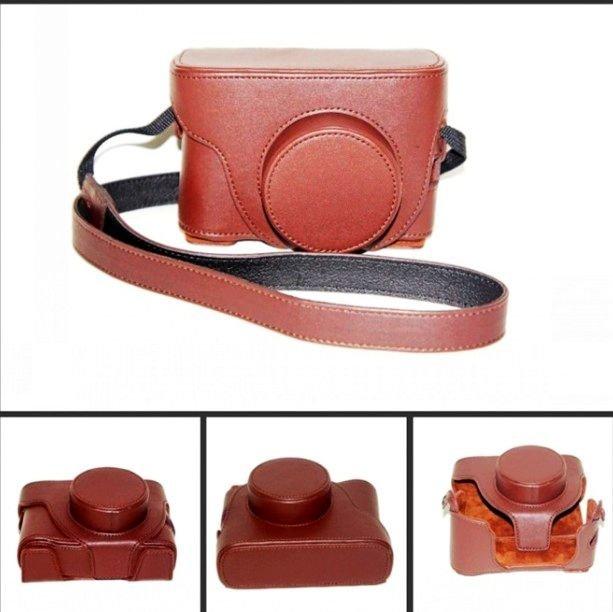 Leather Case bag LC-X100 Finepix X100 Fujifilm brown or black
