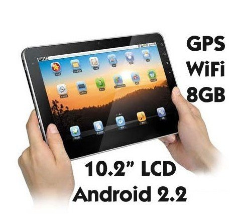 """10"""" ePad-Flytouch III 3Tablet Android 2.2 512MB 1GHz 4GB (able to extend to 8/16/ 32GB)"""