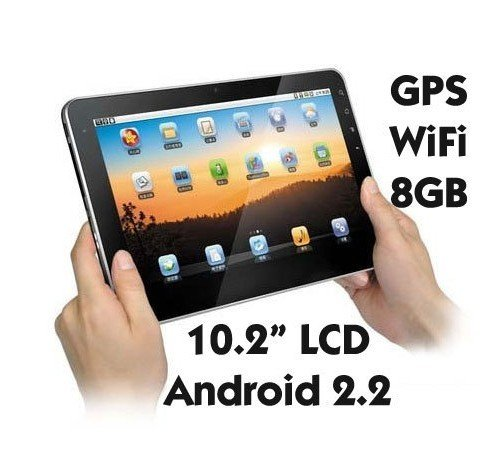 """10.2"""" ePad- Flytouch III 3 MID Android 2.2 1GHz CPU 8GB HDD"""