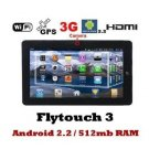 """SuperPad III 10"""" inch  (10.2"""") Google Android 2.2 OS Tablet and Leather Case w/keypad"""