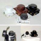 leather case bag to Panasonic Lumix DMC-GF2 camera 14mm