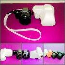 leather case bag- Sony NEX5 NEX-5 bag w/ flash 4colors