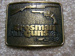 Belt Buckle: Crosman AirGuns