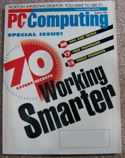 PC Computing magazine - August 1991