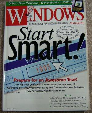Windows magazine - January 1995