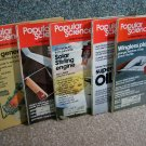 Popular Science Magazines - April -August 1978