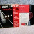 Living Presence Sampler - LP Record