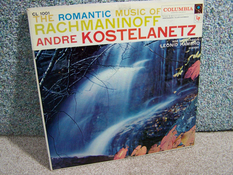 Andre Kostelanetz - Music of Rachmaninoff
