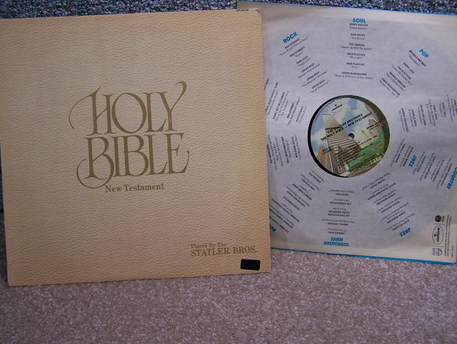The Statler Brothers - Holy Bible New Testament