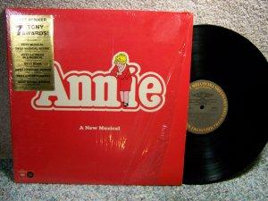 Annie - A New Musical (LP Record)