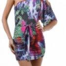 Kimono Sleeve Mini Dress Medium