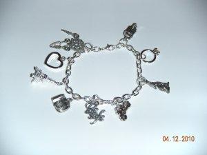New Moon Inspired Charm Bracelet