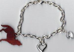 Eclipse Saga Inspired Charm Bracelet