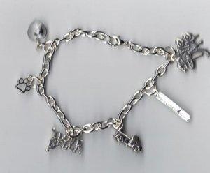 Bella Inspired Charm Bracelet